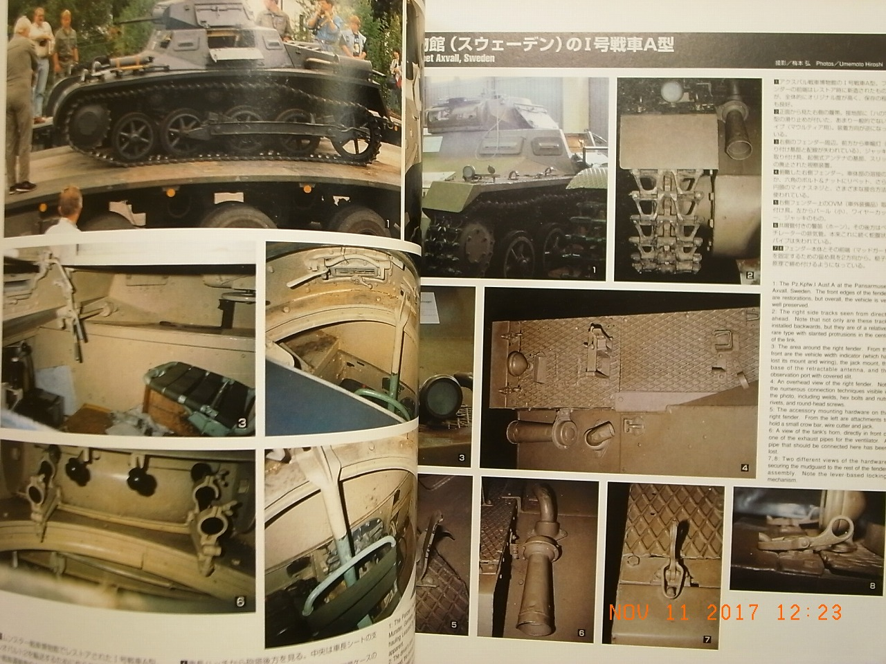 PZ.KPFW.I AND II PICTORIAL ACHTUNG PANZER 7 DAINIPPON KAIGA JAPAN BOOK